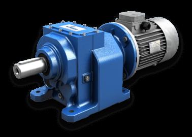 Циліндричні співвісні мотор-редуктори